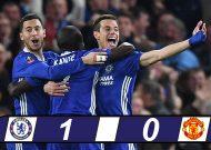 Kante ghi bàn giúp Chelsea đánh bại MU vào bán kết cúp FA