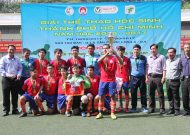 Hoa Lu School - District 9 to win the first prize of Secondary School Football 2016 - 2017