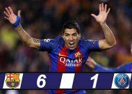 Barcelona ngược dòng không tưởng đánh bại PSG vào tứ kết