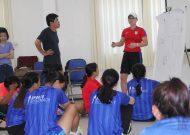 Chương trình tập huấn bóng đá nữ và kỹ năng mềm năm 2017
