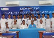 Thông báo mở khoá đào tạo HLV futsal sơ cấp lần 2 năm 2017