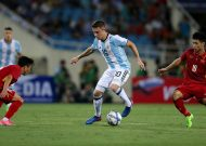 Vietnam U-22s trounced 5-nil by Argentina U-20s in My Dinh Stadium