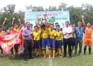 Quận Phú Nhuận vô địch giải bóng đá năng khiếu lứa tuổi 14 TPHCM năm 2017