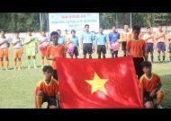 CLIP KHAI MẠC GIẢI BÓNG ĐÁ NĂNG KHIẾU U14 TP.HCM