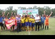 Clip Quận Phú Nhuận đăng quang giải U14 Thành phố 2017