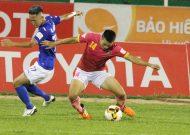 Sài Gòn FC hoà Than Quảng Ninh trên sân Thống Nhất