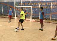 Đội tuyển futsal Việt Nam chuẩn bị cho trận đấu với Hong Kong (Trung Quốc)