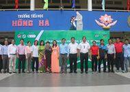 Khai mạc chương trình bóng đá học đường TPHCM năm học 2017 - 2018, tại trường Tiểu học Hồng Hà (Q.Bình Thạnh)
