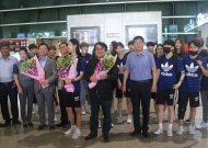 Đội bóng nữ Gyeonsangbuk (Hàn Quốc) đến TPHCM, chuẩn bị cho trận giao hữu với đội nữ TPHCM