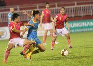 Sài Gòn FC chia điểm với Khánh Hoà trên sân Thống Nhất
