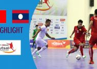 Clip Lào thắng Timor Leste 6-4