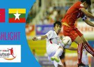 Clip tuyển futsal Việt Nam đánh bại Myanmar giành ngôi nhất bảng A