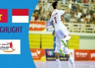 Clip tuyển futsal Việt Nam thắng nghẹt thở Indonesia