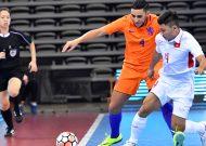 Đội tuyển futsal Việt Nam hoà Hà Lan tại giải tứ hùng quốc tế ở Trung Quốc