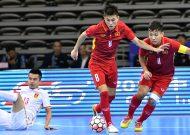 Đội tuyển futsal Việt Nam thắng nghẹt thở đội tuyển futsal Trung Quốc tại giải tứ hùng quốc tế