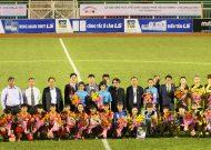 Đội nữ Gyeongsangbuk-do thắng đội nữ TPHCM trong trận giao hữu trên sân Thống Nhất