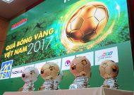 Khởi động giải thưởng Quả bóng vàng Việt Nam 2017