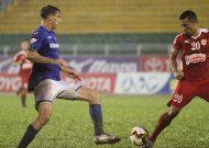 CLB TPHCM thua ngược Than Quảng Ninh trên sân Thống Nhất