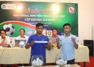 Giải futsal sinh viên TPHCM năm 2017 - cúp Đại học Gia Định