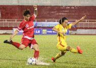 Đương kim vô địch TPHCM thẳng tiến tại giải bóng đá nữ VĐQG – cúp Thái Sơn Bắc 2017