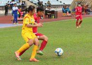 TPHCM vững ngôi đầu tại giải bóng đá nữ VĐQG – cúp Thái Sơn Bắc 2017