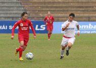 Phong Phú Hà Nam thắng nhọc nhằn tại giải bóng đá nữ VĐQG – cúp Thái Sơn Bắc 2017