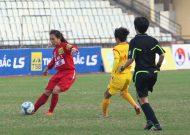 TPHCM vững ngôi đầu giải bóng đá nữ VĐQG – cup Thái Sơn Bắc 2017