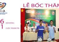 Clip lễ bốc thăm giải futsal sinh viên TP.HCM 2017 Cúp Đại học Gia Định