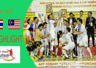 Clip tuyển futsal Thái Lan ngược dòng đánh bại Malaysia giành chức vô địch
