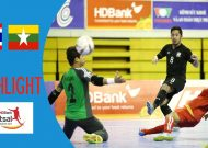 Clip tuyển futsal Thái Lan thắng dễ Myanmar