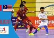 Clip tuyển futsal Việt Nam thua Malaysia