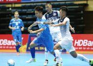 Kịch tính các trận tứ kết giải cúp quốc gia futsal HDBank 2017