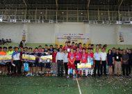 Trường Năng khiếu TDTT vô địch giải futsal học sinh TPHCM 2017