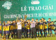 Hoàng Sang FC vô địch giải bóng đá TPHCM năm 2017