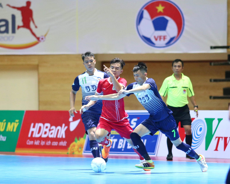 HPN Đại học Gia Định vào chung kết futsal cúp Quốc gia 2017 gặp Thái Sơn Nam