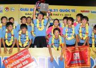 Vượt qua U21 Việt Nam, U21 Yokohama (Nhật Bản) vô địch giải U21 quốc tế 2017