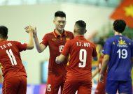 Gút danh sách đội tuyển futsal Việt Nam tham dự VCK futsal châu Á 2018