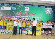 ĐH Công Nghệ TP.HCM (HUTECH) vô địch giải futsal sinh viên 2017 cúp ĐH Gia Định