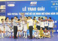 Thái Sơn Nam vô địch giải futsal TPHCM mở rộng 2017 – cúp LS lần 11