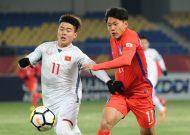 U23 Việt Nam thua sát nút U23 Hàn Quốc tại VCK U23 châu Á 2018