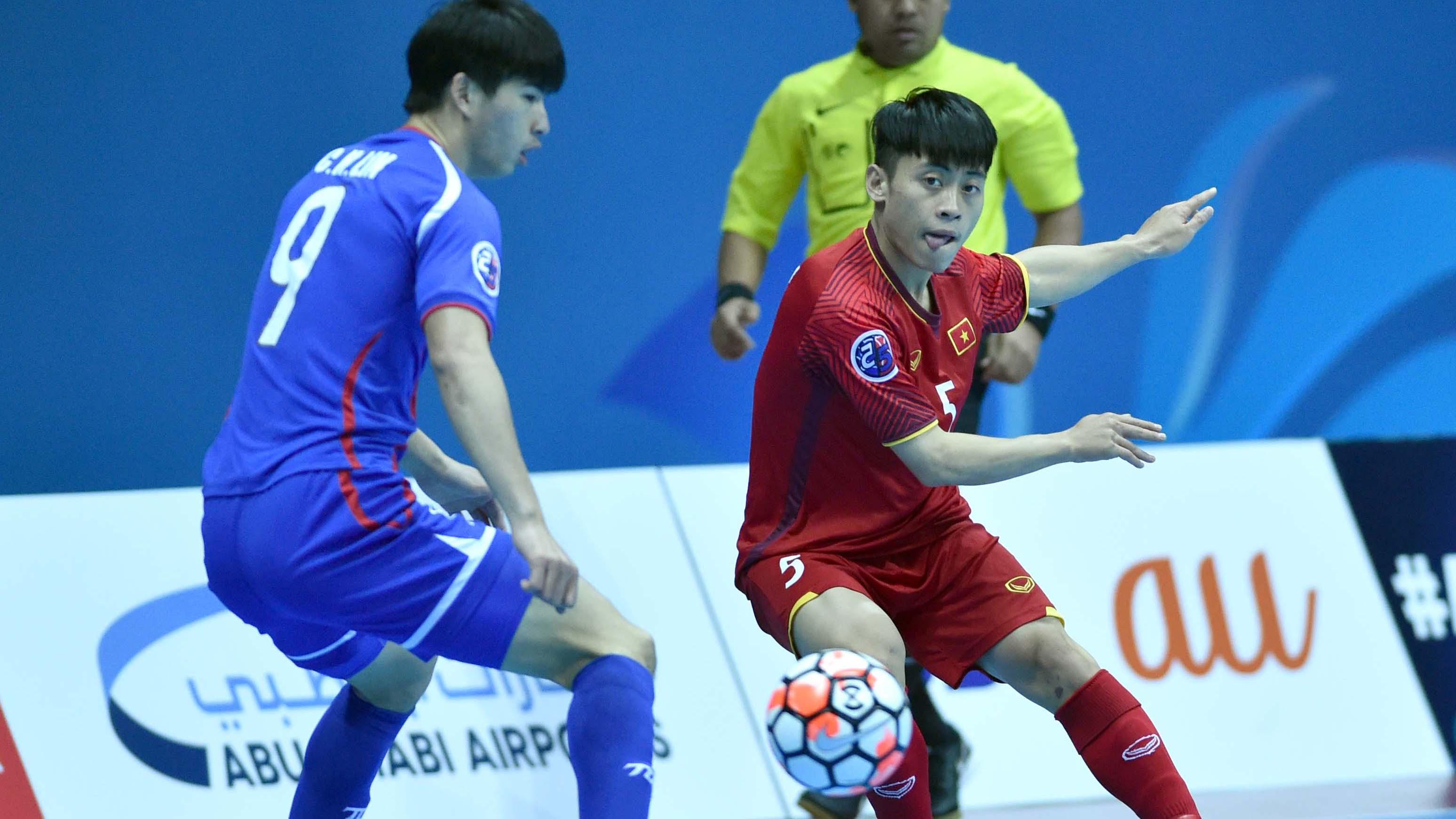 Đội tuyển futsal Việt Nam vào tứ kết giải futsal châu Á gặp Uzbekistan