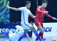 Đội tuyển futsal Việt Nam thua trong ngày ra quân ở giải futsal vô địch châu Á 2018