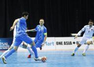 Đội tuyển futsal Việt Nam dừng bước ở tứ kết giải futsal châu Á