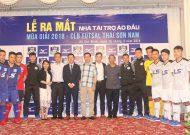 CLB futsal Thái Sơn Nam ra mắt trang phục thi đấu mới cho mùa giải 2018