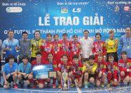 Hà Nội vô địch giải futsal nữ TPHCM mở rộng 2018 - cúp LS lần 8