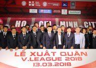 CLB TPHCM xuất quân, đặt mục tiêu top 3 Nuticafe V-League 2018