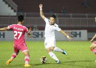 CLB TPHCM thắng Sài Gòn FC trong trận derby TPHCM