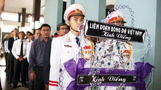 Đoàn VFF và HFF viếng nguyên thủ tướng Phan Văn Khải
