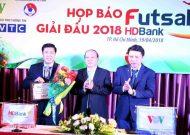 12 đội tham dự giải futsal VĐQG HDBank 2018