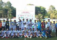 Quận Tân Phú vô địch nội dung bóng đá nam, Đại hội TDTT TPHCM 2018